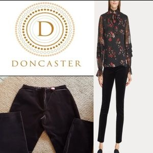 ■Doncaster■(8) Chocolate Velvet Straight Pants